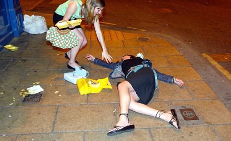 Drunk Woman Rape